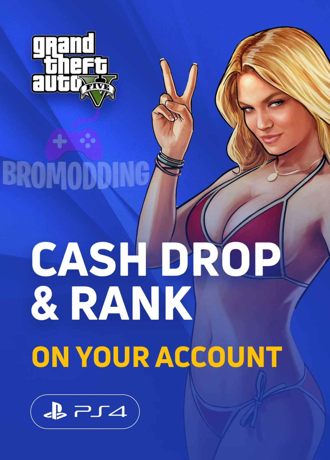 Buy GTA Online Modded Accounts PS4, Xbox One, cash drops |